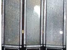 برفان زجاجي خشبي