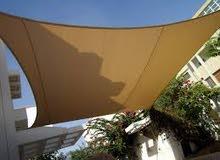 ابو فؤاد طبازة لتفصيل كافة انواع المظلات الثابثه والمتحركه والخيم والاشرعه