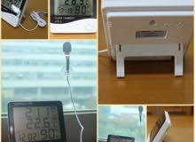 مقياس الحرارة والرطوبة    ( TEMPERATURE )
