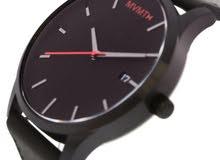 ساعة mvmt سوداء جديدة للبيع