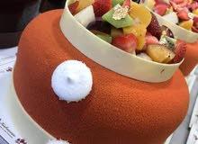 شيف حلويات غربيةو فرنسية