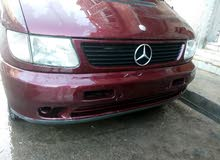 Manual Maroon Mercedes Benz 1998 for sale