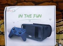نظارات الواقع الافتراضي مع جوستك