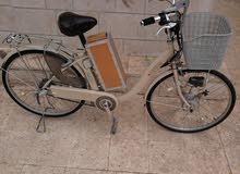 دراجة كهربائية سانيو ياباني
