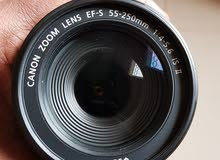 Canon EF 55-250 f/4_5.6 is ii lens for sale in great condition.