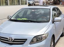 Toyota Corolla car for sale 2009 in Muscat city
