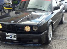 Used condition BMW E30 1989 with 1 - 9,999 km mileage