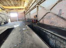 مصنع للايجار بالصناعيه الرابعه مساحه 800 متر الهنجر