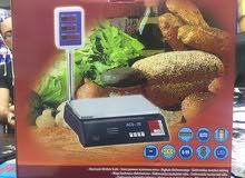 ميزان حساس40 كيلو وشاشه للوزن والسعر  موفر للاستهلاك ماركه كامري scales 40 kg