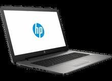 لابتوب HP 2018 كور أي 3 الجيل السادس مستورد من الخارج بحالة  ممتازة جدا (مستعمل مرة واحدة)