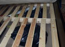غرفة نوم خشب زان بحالة الوكاله استعمال اسبوع فقط