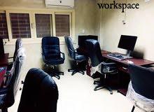 مساحة عمل ومكتب للإيجار في الدقي بجوار مترو البحوث