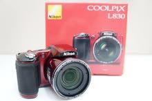 كاميرة Nikon Coolpix يابانية  للبيع شيك او كاش