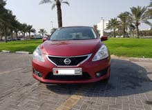 Nissan tiida full option low milage