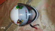 helmet for kid (size 3-to 8 years) angry bird design