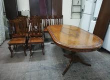 Dinning table with 8 chairs Forsale