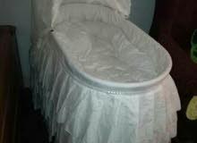 سرير اطفال مستورد لم يستخدم فرش تول وستان من السعودية