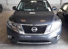 Blue Nissan Pathfinder 2014 for sale