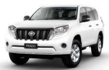 Toyota Prado 2015 For sale - White color