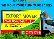 Furniture mover export