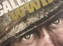 للبيع قرص call of duty wwII الجديدة
