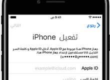 (72 ساعه) خدمة سريعه فك الايكلاود شكل رسمي لكافة أجهزة Apple
