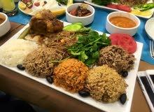مطعم درجة اولى في المنصور للبيع او المشاركة او الاستثمار