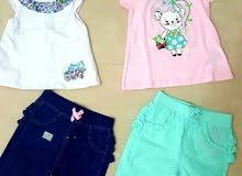 ملابس وفساتين بنات للبيع