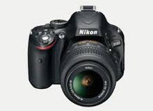 Barely Used Nikon D5100 with 18-55mm Lens