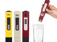 جهاز فحص الماء TDS Tester وقياس درجة الحرارة