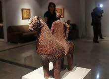 تمثال انتيكة من اعمال الفنان الراحل سيد عبدالرسول وعندى لوحات لأعلى سعر