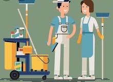 تنظيف شركات ومنازل وفلل وحدائق
