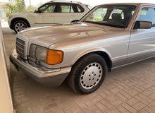 مرسيدس كلاسيك 300se موديل 1989