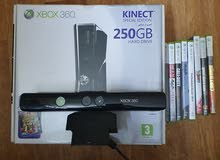 xbox 360 special edition+2 controllers+kinect and many games (price negotiable)