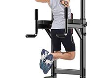 Chin Up Bar Abs Workout Knee Crunch Triceps Station Power Tower Pull up Bar