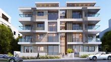 شقة ارضية مميزة مساحة (112)متر مع ترس (135)م