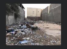 قطعة ارض لبيع الجبيله شارع الشفاء بداية شارع الخربطليه مساحته (250) متر