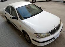 Nissan Sunny Model 2002, White, Price 4000 AED