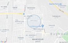 قطعه ارض للبيع المساحه 148م واجه 7م العنوان حي الماتنبي مدخل حجي حسين