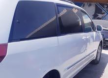 تويوتا سيينا موديل 2004 فول ابشين جلد  ماشي 170كيلومتر مطلوب  1