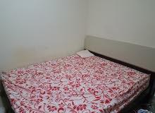 غرفة نوم كاملة ممتازة قليلة الاستعمال ونظيفة جدا
