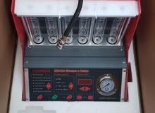 جهاز اختبار و تنظيف رشاشات البنزين لجميع السيارات.