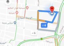 عمارة للبيع بقرب شارع السعادة منطقة السوق الوسط التجاري الزرقاء