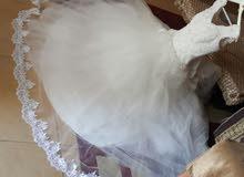 فستان ابيض عروس تركي
