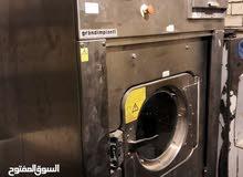 ماكينة مغسلة ملابس حجم كبير70ك ايطالية غسل وعصر هاى سبيد مزطوريات