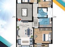 شقة للبيع بالمنصورة 120م ب حي الجامعة امتداد معرض خفاجي للسيارات