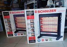دفاية كهربائية شنايزر 4 شمعات بالمروحة لتدفئة صحية وغير مسببة للصداع
