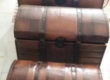 ثلاث صناديق خشب تركية الصنع للبيع