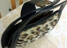 pure zebra and leopard skin hand bags from Africa in perfect condition