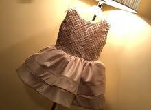 فستان اطفال من سنتين الى ثلاث سنين